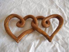 Il legno di Carmen: Scultura:    Cuori per S. Valentino