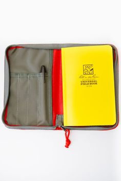 Fidelis Co, $42.00...Notebook Cover Width: 5 inches Notebook Cover Height: 8 inches
