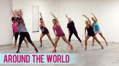 Natalie La Rose - Around The World ft. Fetty Wap (Dance Fitness with Jes...