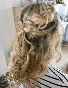 Crown Braid #braid #hair #styling #haarstyling