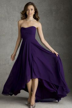 bridesmaid dress bridesmaid dresses- like the bottom and the length