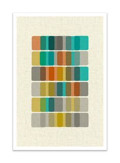 Mid Century Modern Danish Print by Thedor #nunapinparty #modernfamilyhome
