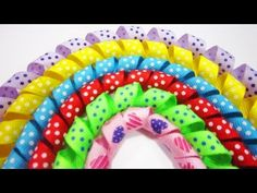 How to make no bake korker ribbons #spiralribbon