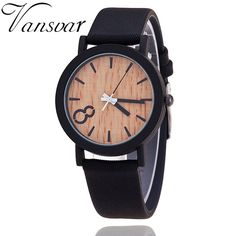 >> Click to Buy << Luxury Brand Simulation Wooden Watch Men Casual Wooden Color Leather Strap Wristwatch Wood Male Quartz Watch Relogio Masculino #Affiliate