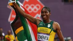 Athletics doping scandal could see Semenya claim delayed gold Caster Semenya, Olympic Triathlon, She's A Woman, 800m, 2012 Summer Olympics, Gender Studies, Olympic Athletes, London Photos, Track And Field