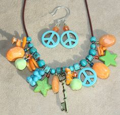 TTE Designs~Bead Soup Blog Hop Us Navy Wife, Jewelry Making Beads, Old School, My Etsy Shop, Handmade Jewelry, Soup, Peace, Turquoise, Party