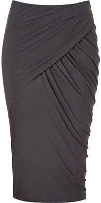 Shop for Donna Karan Shadow twisted drape skirt at ShopStyle. Work Fashion, Skirt Fashion, Fashion Design, Fashion Site, Donna Karan, Draped Skirt, Work Attire, Mode Inspiration, Beautiful Outfits