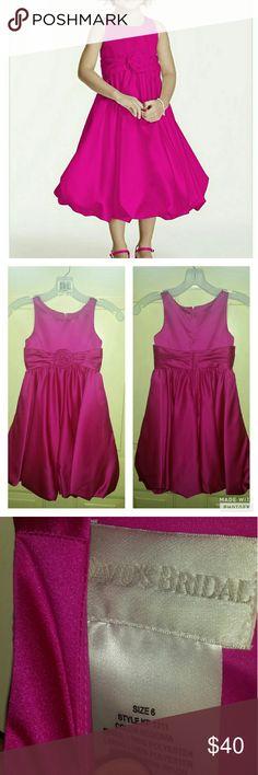 Selling this David's Bridal Flower Girl Dress on Poshmark! My username is: missy5076. #shopmycloset #poshmark #fashion #shopping #style #forsale #David's Bridal #Other