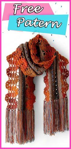 Crochet Flower Scarf, Crochet Cardigan, Crochet Scarves, Crochet Flowers, Crochet Hats, Star Wars Crochet, Crochet Cushions, Shawls, Free Crochet