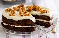 Sticky Carrot Cake - Recipe