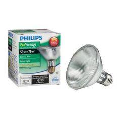 Ecovantage 70 watt 90 watt par38 indooroutdoor flood light bulb ecovantage 53 watt 75 watt par30s indooroutdoor flood light bulb aloadofball Choice Image