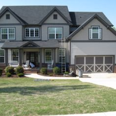 The Perfect Paint Schemes for House Exterior | Garage doors, Screen ...