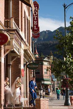 Indoor & Outdoor Wedding Ceremony & Reception Venue in Ouray, Colorado. Hotel Wedding Venues, Colorado Wedding Venues, Beaumont Hotel, Ouray Colorado, Vintage Hotels, Wedding Honeymoons, Indoor Outdoor, Victorian, Wedding Ideas