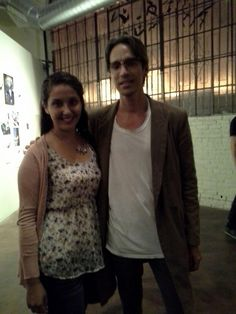 Twitter / _ehdez630: Brandon Boyd. Lead singer for Incubus. Tonight at the TKU Art Show :')