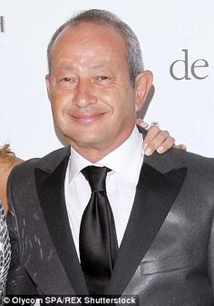 Naguib Sawiris (pictured at the Cannes Film Festival in 2010) has offered to buy an island from Greece or Italy so migrants can build their own country