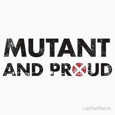 Mutant and proud - black