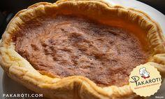 Bakewell Pudding adalah flaky pastry yang dilapisi dengan selai berry dengan topping custard serta almond #BakeryProduct