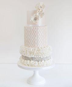 Cake Teacher - Couture Wedding Cake Techniques