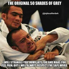 "martial arts humor - lol!! jiujitsuafterdark #50shadesofgrey #bjj4life…"""
