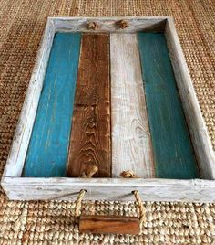 Pallet Projects DIY Pallet Project 2 - A DIY pallet project can look lovely in and outside of your home and will save you a ton of cash over traditional furniture. Wooden Pallet Projects, Pallet Crafts, Diy Pallet Furniture, Furniture Design, Handmade Furniture, Diy Crafts With Pallets, Pallet Ideas, Furniture From Pallets, Rustic Furniture