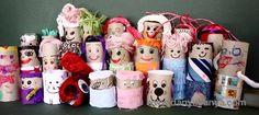 Danya Banya: Toilet Paper Roll Dolls