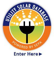 SEPA's Utility Solar Database. Also find their Utility Solar Market Snapshot for 2013 here: http://www.solarelectricpower.org/media/180658/solar-market-snapshot-ver8.pdf