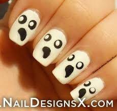 fine Halloween nail design - Nail Designs & Nail Art