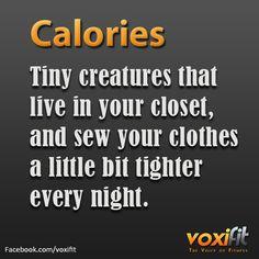 Hidden calories...