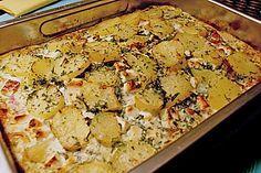 Schafskäse - Kartoffel Auflauf 2