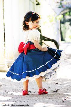 Vestido Galinha Pintadinha para Isabella by Jolie! Jolie!