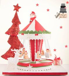 Santa Clause is coming to town - cake by Out of the Box