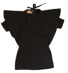 Black dress Grecha for kids.
