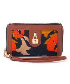 Love this Navy Mary Lavinia Charm Wallet