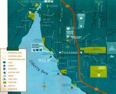 Map Poulsbo Washington