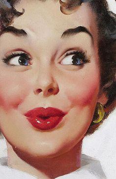 41 Trendy Wall Paper Vintage Pin Up Gil Elvgren Pin Up Retro, Pin Up Girl Vintage, Retro Art, Vintage Art, Retro Kunst, Pin Up Illustration, Girl Illustrations, Photographie Portrait Inspiration, Gil Elvgren