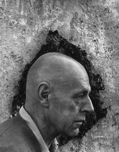 Arnold Newman     Jean Dubuffet, French Painter and Sculptor      1956