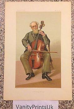 Vanity Fair Original Print Lord Fitz Gerald 1883 Cello | eBay