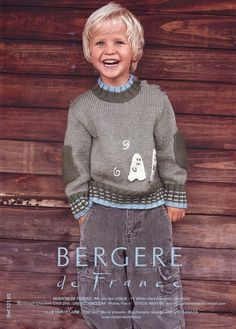 Bergere de France--Ghost Sweater and Cap (ages 2 - 8)