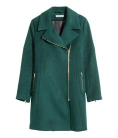 Green and Gold Coat   H&M US