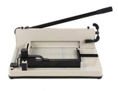 Is it weird that I'm geeking out about a heavy-duty paper cutter… and do I really care? ;P