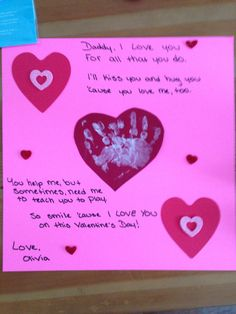 valentines day gift we made for daddy crafts to do with kids pinterest gift holidays and craft - Valentines Gifts For Daughters