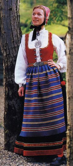FolkCostume&Embroidery: Overview of Norwegian Costumes. Part the Southeast. Norwegian Clothing, Beautiful Costumes, Folk Costume, Norway, Culture, Embroidery, Folk Art, Clothes, Vintage