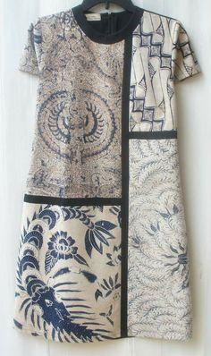Blouse Batik, Batik Dress, Batik Fashion, Bodycon Dress With Sleeves, Quirky Fashion, Party Wear Dresses, Looks Style, Boho Outfits, Simple Dresses