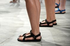 Pin for Later: 12 Awesome Things to Happen to Footwear For Spring '15 Charlotte Ronson promised that we'd be seeing Tevas again.