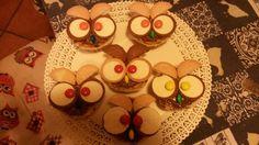 Owl mini cake