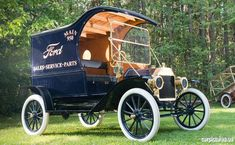 1912 Ford Model T Delivery Car #Ford #Rvinyl ============================= http://www.rvinyl.com/Ford-Accessories.html