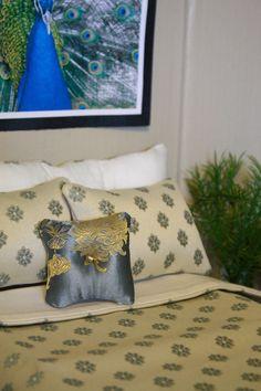 Doll Bedding for Barbie Fashion Royalty Moxie Bratz by FroggyStuff. $12.99, via Etsy.