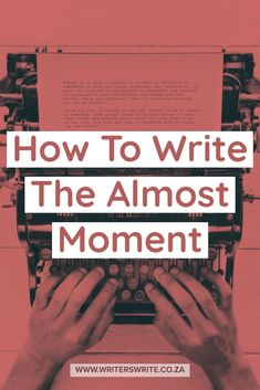 If you are writing romance, you need to know that the secret to successful romance writing is mastering the almost moment. Writing Prompts Romance, Writing Genres, Book Writing Tips, Writing Characters, Fiction Writing, Writing Help, Writing Skills, Writing Workshop, Writing Process