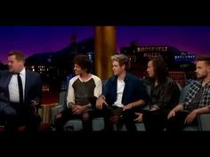 ▶ FULL INTERVIEW || One Direction on the Late Late Show with James Corden on May 14, 2015. - YouTube One Direction Youtube, One Direction Music, One Direction Interviews, One Direction Memes, The Late Late Show, Change My Life, Johnny Depp, Boys Who, Music Videos