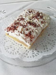 Svieži koláčik vhodný na každú príležitosť.
